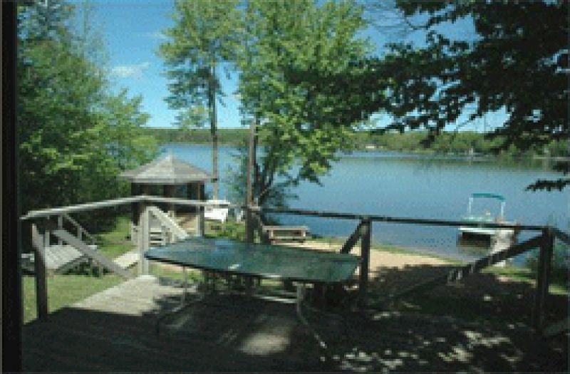 Upper peninsula cabin rentals and cottages for Fishing cabins in michigan